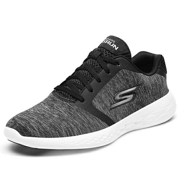 Shoestw【15071BKW】SKECHERS 慢跑鞋 GO RUN 600 麻灰黑 網布 瑜珈鞋墊 女款 0