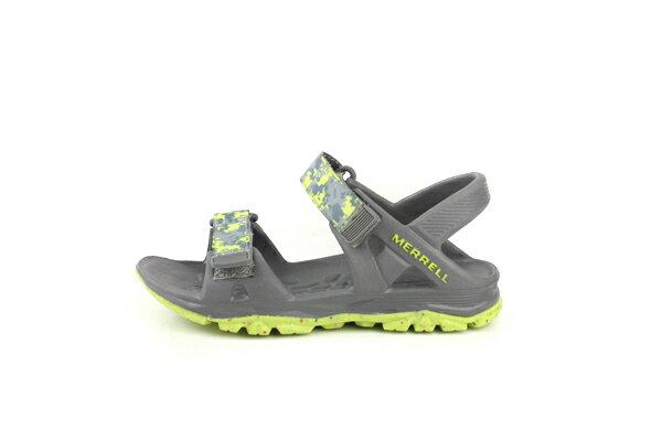 MERRELL 涼鞋 灰色 中童 no052 5