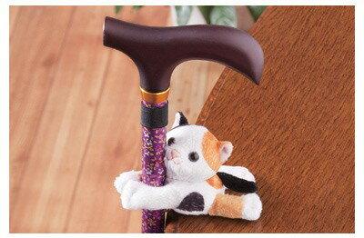 手杖用玩偶夾,利於固定於平台上 *日本進口*『康森銀髮生活館』無障礙輔具專賣店 1