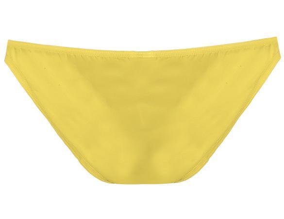 Men Brief Breathable Ice Silk Triangle Underpants Solid Brief 2