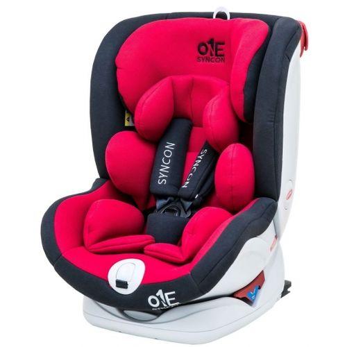 ★衛立兒生活館★欣康ONE(0-12歲)ISOFIX汽車安全座椅-升級版-紅FB00556