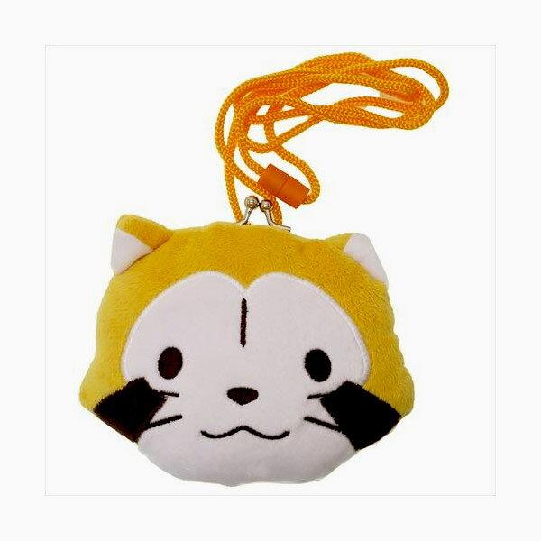 小浣熊PuchiRascal可側背手拿口金化妝包零錢包日本正版