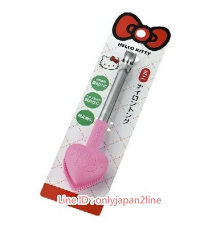 【真愛日本】17022000016食物夾M-愛心桃   三麗鷗 Hello Kitty 凱蒂貓   沙拉夾 食物夾 夾子 烤肉用品