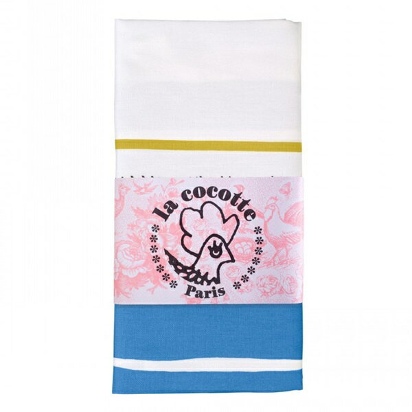 《法國 La Cocotte Paris》Blue Tartan Tea Towel 茶巾 1
