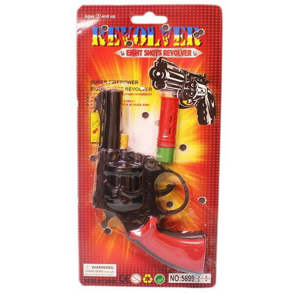 八發槍 童玩 左輪槍玩具 NO.5988(卡裝)/一支入{促30} 8發槍~錸5899A
