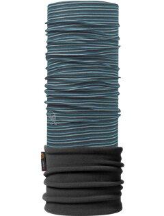 【【蘋果戶外】】BF111186BUFF魔術頭巾柏曼灰藍Polartec二段式保暖纖維保暖圍巾領巾口罩