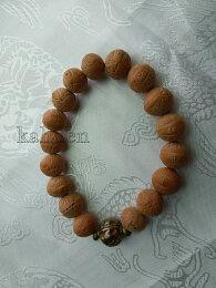 尼泊爾 原籽鳳眼菩提子手珠 (銅珠)