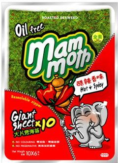 大象泰式海苔-辣味60g