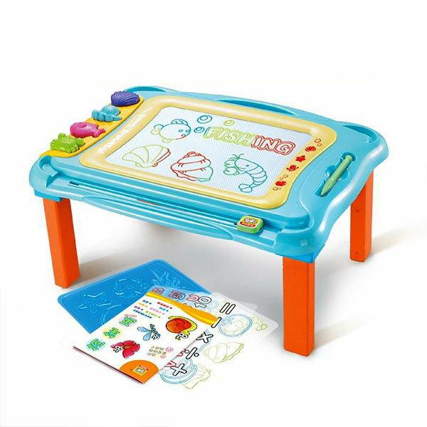 【888便利購】838A39多功能腳架式彩色磁性畫板(大版)(擦寫流暢)