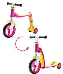 ★衛立兒生活館★奧地利Scoot & Ride Highwaybaby+幼兒滑步滑板車-寶貝粉(1Y)