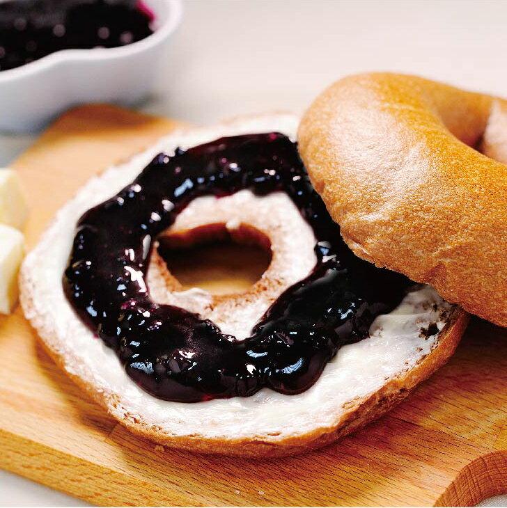 可可奶油藍莓貝果6入組★Golden Brown 布朗主廚