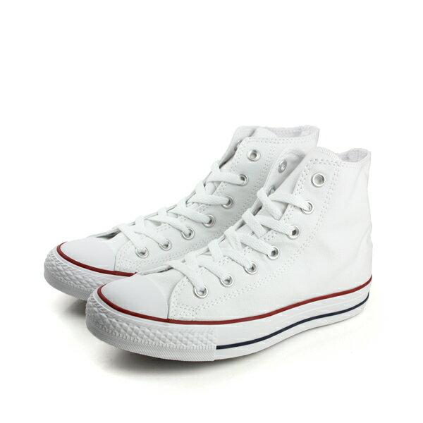 CONVERSE ALL STAR HIGH 帆布鞋 白 男女款 M7650C no989 0