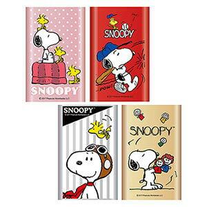 【SNOOPY】史努比10400mAh行動電源PMJ-004點點粉棒球紅飛行銀玩偶金
