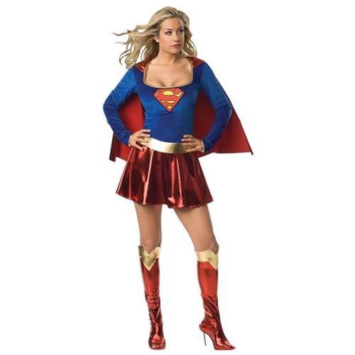 Supergirl Deluxe 1-Piece Adult 3