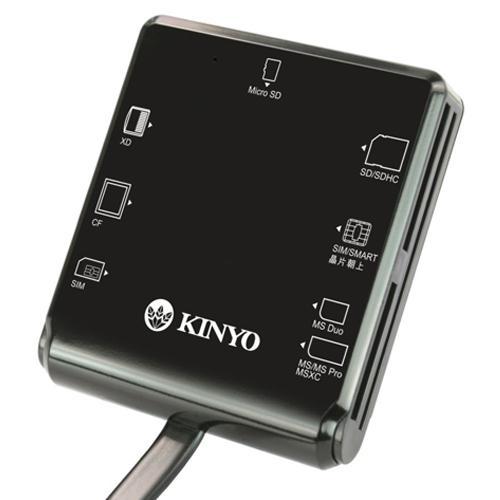 KINYO 多合一晶片讀卡機KCR-359【愛買】