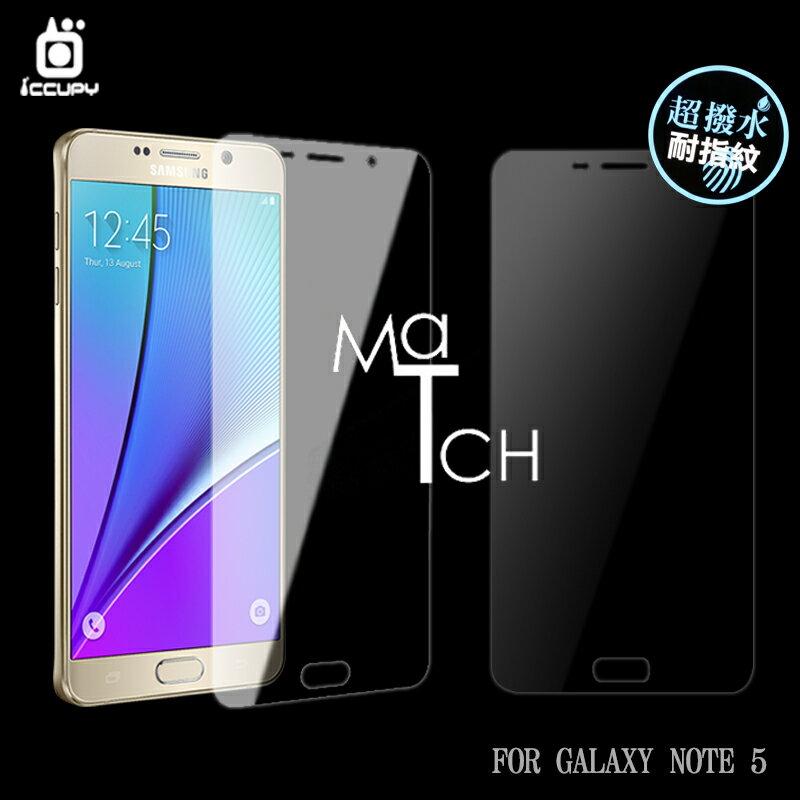 Samsung Galaxy NOTE 5 N9208 滿版 亮面保護貼^(正面^) 兩入