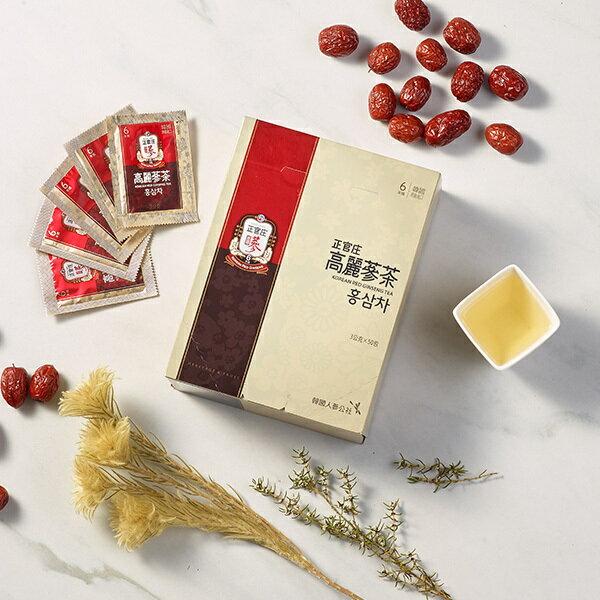 【正官庄】高麗蔘茶50包 / 盒 禮盒裝 6年根高麗蔘濃縮蔘茶 即溶茶粉 4 / 10左右出貨 2