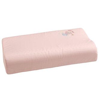 Combi康貝 - 小魚銀纖乳膠兒童枕 -粉 (附替換枕套)