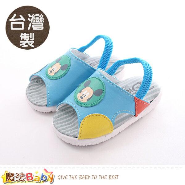 寶寶鞋台灣製迪士尼米奇正版幼兒嗶嗶鞋魔法Baby~sk0407