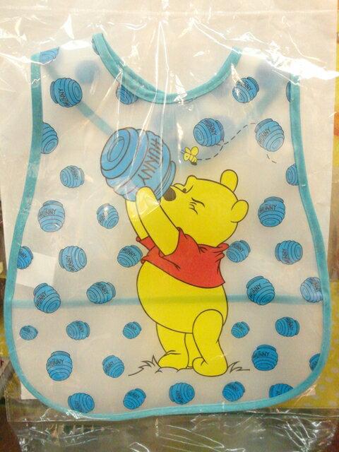 【兒童】 防水造型圍兜(小熊維尼)