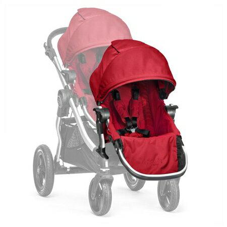 【淘氣寶寶】【銀框】2016年新款 Baby Jogger City Select 推車座椅(Second Seat)雙人第二座椅【公司貨】