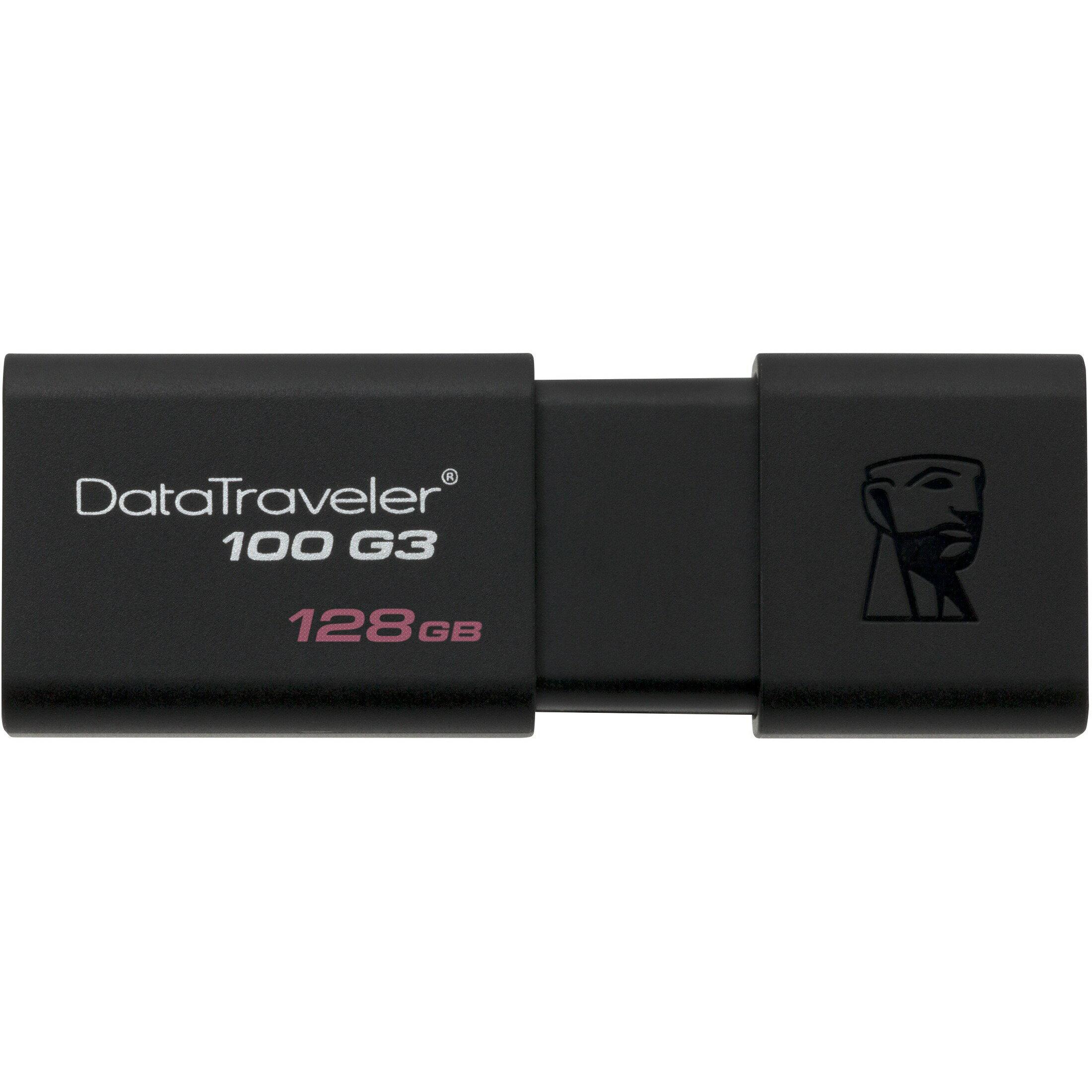 Kingston 128GB DataTraveler 100 G3 128G USB 3.0 100MB/s DT100G3 Flash Pen Thumb Drive DT100G3/128GB 2