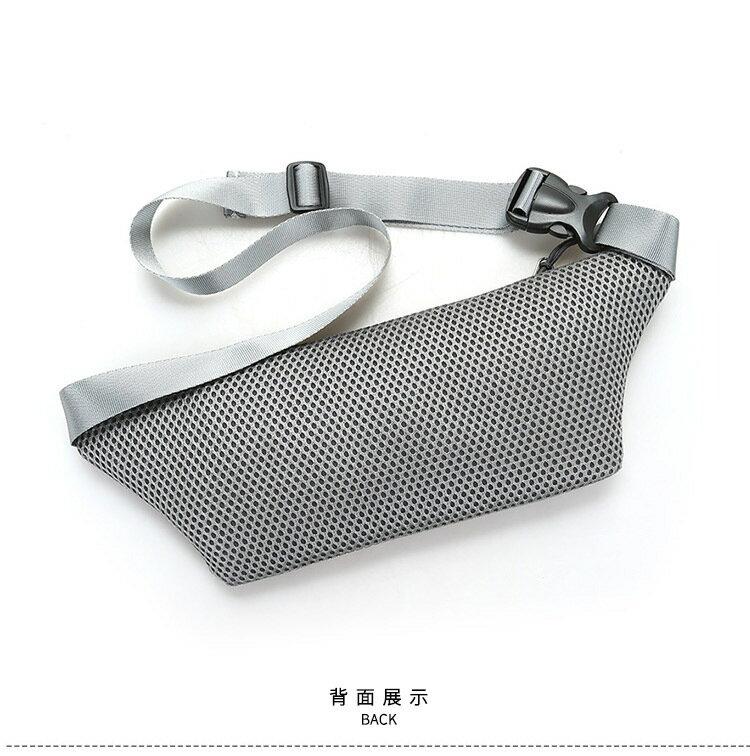 【宸豐光電】腰包,多功能帆布腰包附耳機孔兩拉鍊。戶外活動手機包。貼身防盜包、運動腰包 4