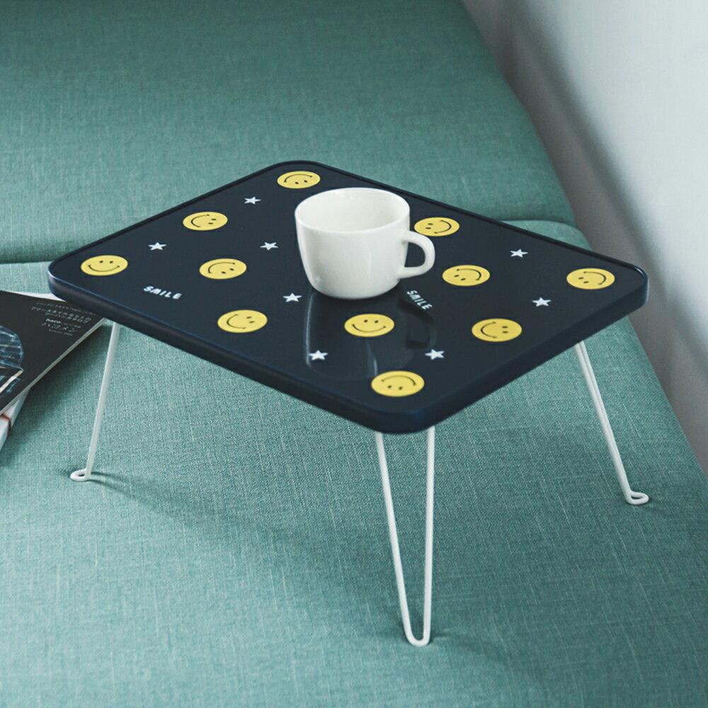 日本/茶几/和室桌 微笑折疊床上桌 MIT台灣製 完美主義【R0076】