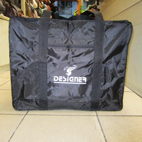 ~雪黛屋~DESIGNER 環保 袋 折疊收納旅行袋 地攤袋 棉被收納袋 超輕防水尼龍#白