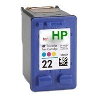 HP 22 C9352A【台灣耗材】HP 22 C9352A環保墨水匣 彩色 適用HP PSC1400/PSC1402/PSC1410/OfficeJet4355/Deskjet F380/F370/..