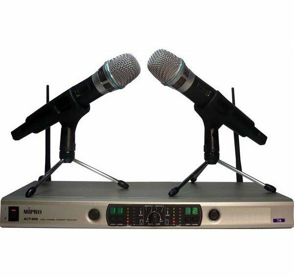MIPRO麥克風無線麥克風MIPROACT-909ACT909旗艦級無線麥克風102CH頻道超高頻無線麥克風組