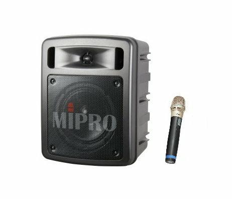 <br/><br/>  MIPRO MA-303su 超迷你手提式無線喊話器/擴音機/教學機 內建USB 附一支無線麥克風<br/><br/>