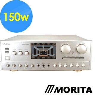 <br/><br/>  【MORITA 森田】 專業卡拉OK擴大機 MA-698 (5.1聲道/150W)☆另可搭配其他型號伴唱機音響組<br/><br/>