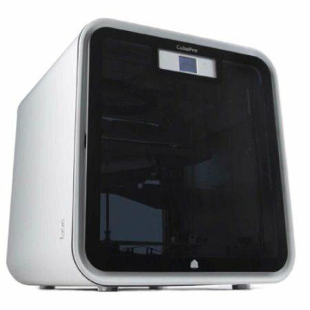 E 平台:3D列印機【3DSystemsCubeProDuo3D印表機】列印大小242*230*270mm雙噴頭打印封閉式列印環境列印效果穩定