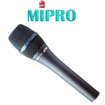 MIPRO MM-707P心型高動態電容式有線麥克風 唱歌錄音專用