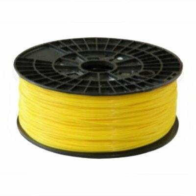 3D列印機線材【ABS 1.75mm 黃色】ABS線材 1KG 3D列表機耗材 3D線材 3D印表機線材
