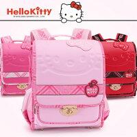 凱蒂貓週邊商品推薦到正版 Hello Kitty  凱蒂貓 減負護脊書包 小學生書包1-4年級-KT92012