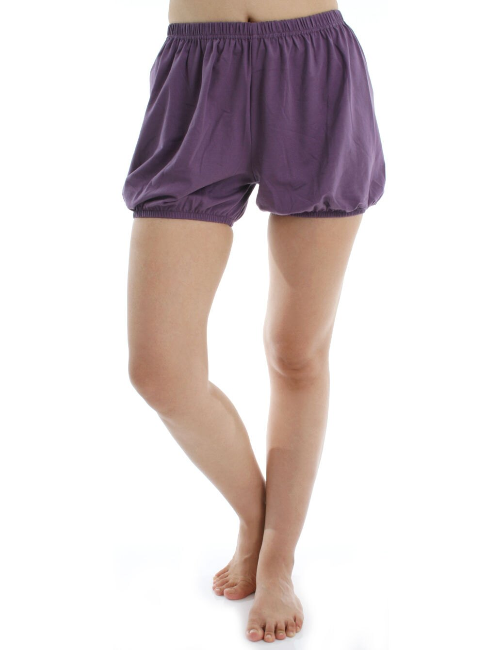 360度全方位防走光!RTBU瑜珈褲~燈籠褲造型。紫色