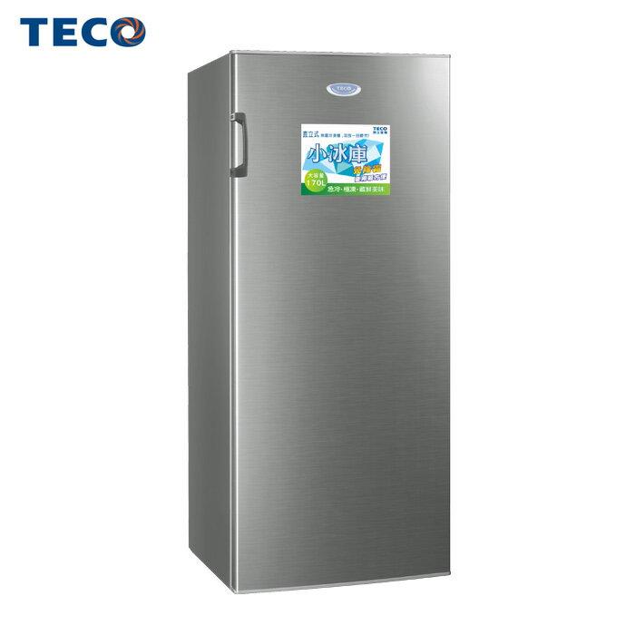TECO 東元 RL163SW 冷凍櫃 170L 單門 直立式