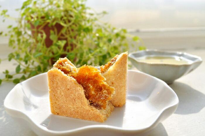 【愛家土鳳梨酥(單顆裝5入)】純素美食 非基改純淨素食糕點 全素點心 風味名點 1