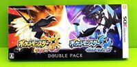 Pokemon:精靈寶可夢到[現金價] (現貨) 3DS 中文 附寶貝球100*2 3DS 神奇寶貝 精靈寶可夢 究極之日+月 雙重包 純日版  日機專用