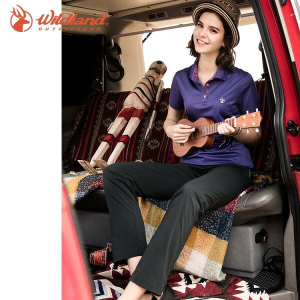 WildLand荒野0A51301女彈性輕薄抗UV長褲(S~XL)城市綠洲(抗紫外線、雙向彈性、戶外機能)