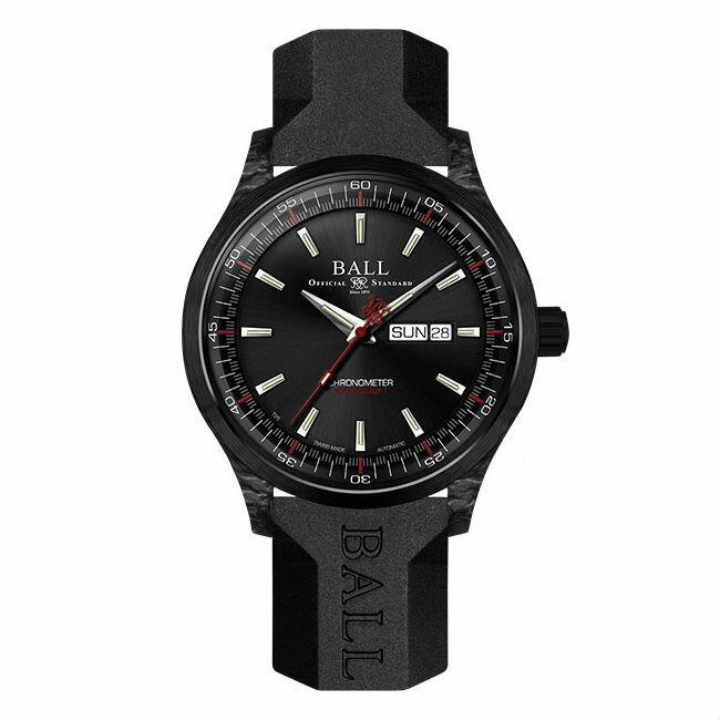 BALL 波爾錶 M3060C-PCJ-GY Engineer II 天文台認證獨家複合式錶殼專業機械腕錶/45mm