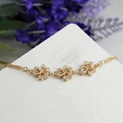 ~玫瑰金手鍊 鑲鑽純銀手環 ~ 精緻鏤空愛心情人節生日 女飾品2色73dl20~ ~~米蘭