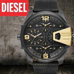 DIESEL國際品牌ONLY THE BRAVE霸氣多國時區腕錶DZ7377公司貨/另類設計/禮物