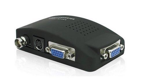 【生活家購物網】 BNC 轉 VGA 視頻轉換器 S端子轉VGA 監控設備 主機接顯示器