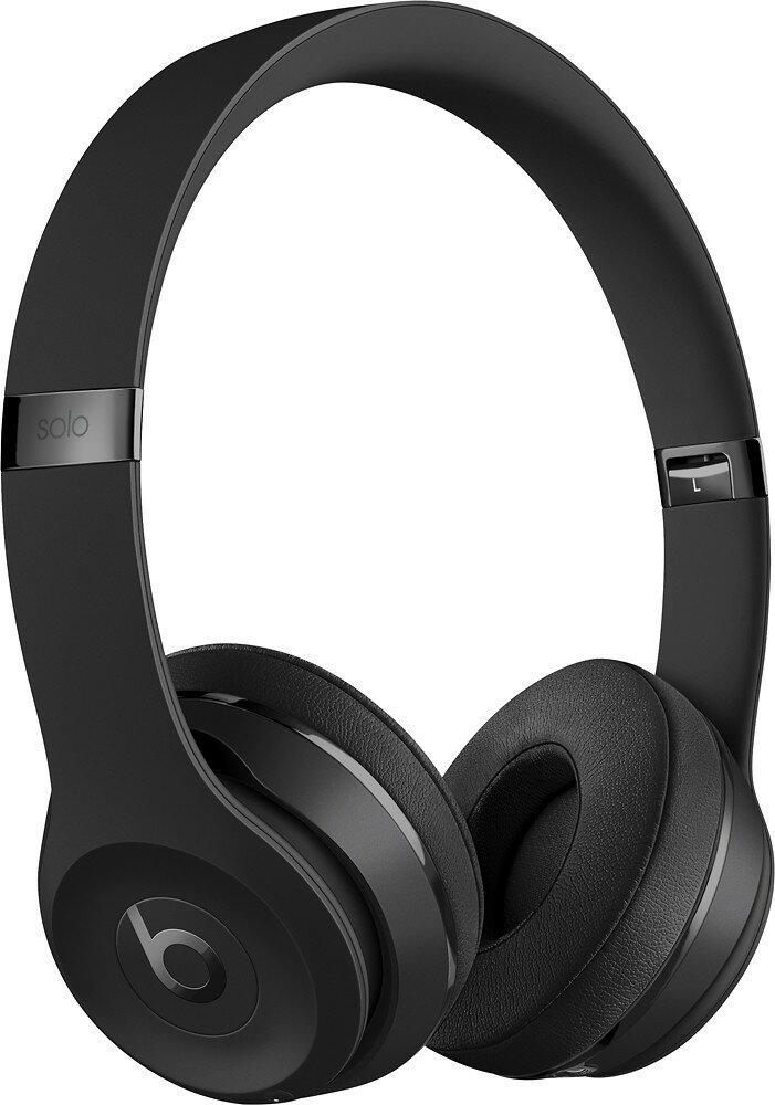 Apple Beats Solo3 Wireless On-ear Headphones - Black 0