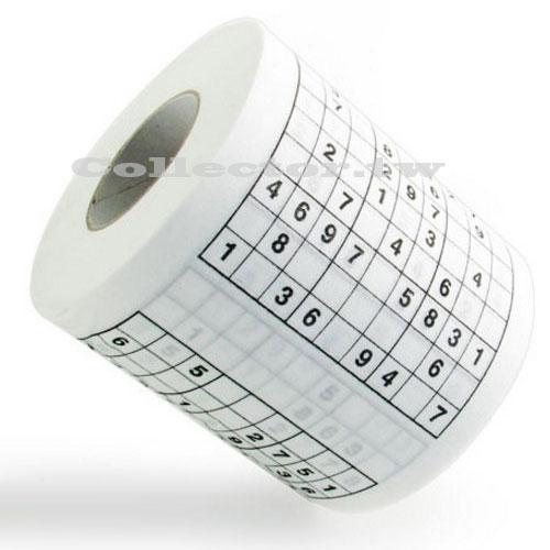【F16053001】動動腦 數獨 衛生紙 個性印花衛生紙 數字益智 準備好 挑戰吧~