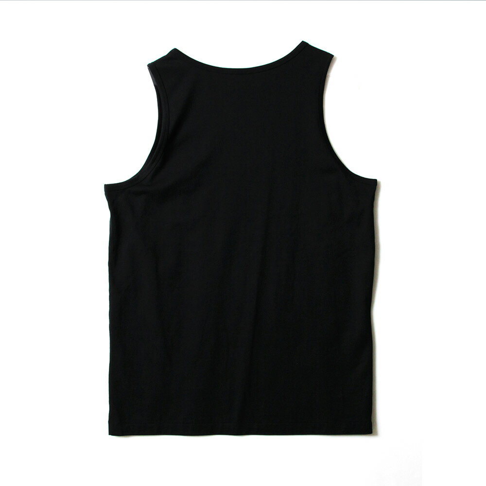 STAGE HOLLOW FONT TANK TOP 黑色/白色 兩色 5