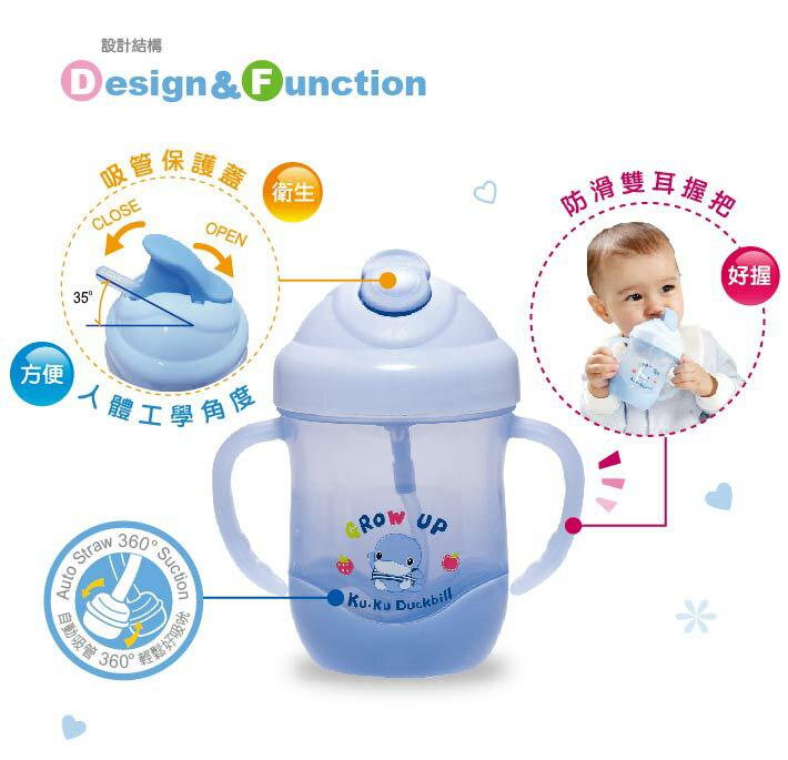 『121婦嬰用品館』KUKU 酷樂喝水杯200ml 3